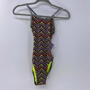 DOLFIN Uglies String Back Swimsuit zulu print XS